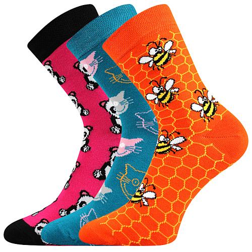Dnešní ponožky jsou funkční.